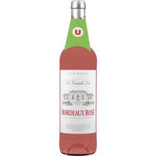 Vin rosé AOC Bordeaux La Grande Lice U, 75cl