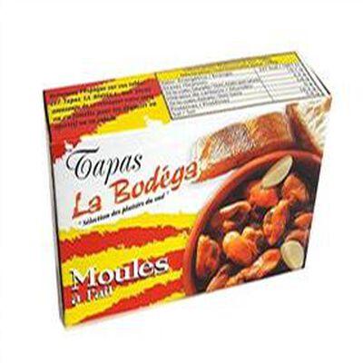 MOULES A L'AIL LA BODEGA 112GR