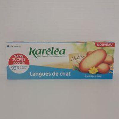 Langues de chat KARÉLÉA paquet 100g