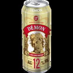 Bière blonde La DEMON, 12°, boîte de 50cl