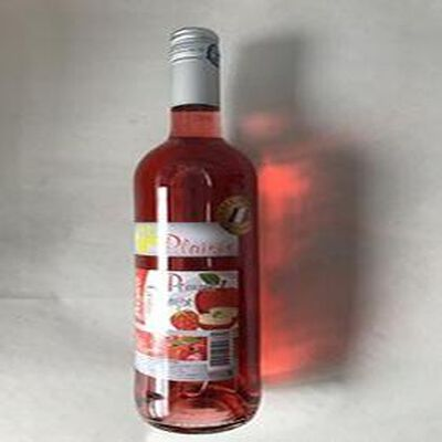 Boisson aromatisée à base de vin Rosé Pomme Fraise VINS ET FRUITS