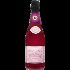 Lambrusco Emilia IGT rosato, U, bouteille de 75cl