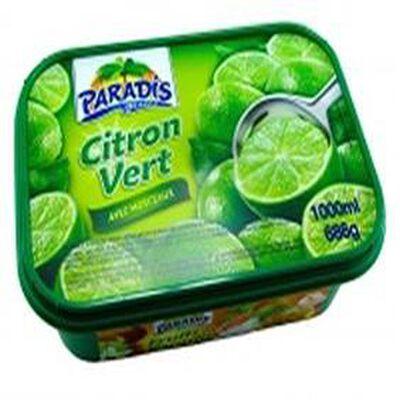 Sorbet PARADIS 1L, parfum citron vert