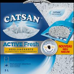 Litière pour chat active fresh CATSAN, sac de 5 litres