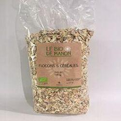 Flocons 5 céréales LE BIO DE MANON