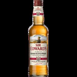 Scotch whisky SIR EDWARD'S, 40°, bouteille de 70cl