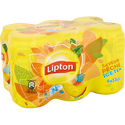 Lipton Boisson Lipton Ice Tea Goût Pêche - Pack Canettes 6x33cl