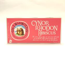 Infusioin cynorrhodon et hibiscus