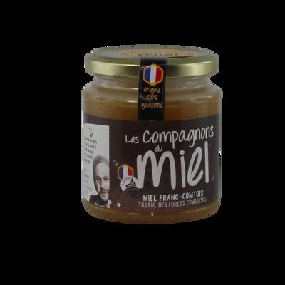 Miel de tilleul des forêts comtoises COMPAGNON DU MIEL, 375g