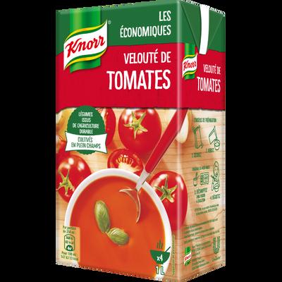 Velouté de tomates Les économiques KNORR, brique de 1 litre