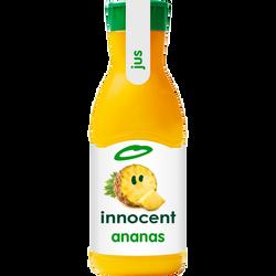 Pur jus réfrigéré d'ananas INNOCENT, bouteille de 900ml