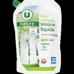 Lessive liquide parfum magnolia-lys Nature U, recharge de 2l, 30 lavages