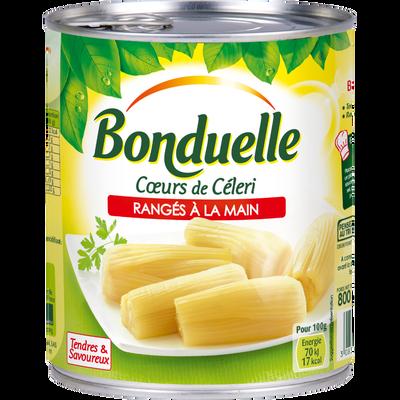 Coeurs de céleris BONDUELLE, boite de 530g