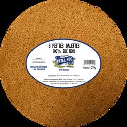 6 petites galettes de blé noir, CATEL ROC, 270g