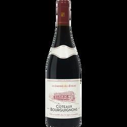 Vin rouge AOC Côteaux Bourguignon les Jardins de l'Evêché U, 75cl