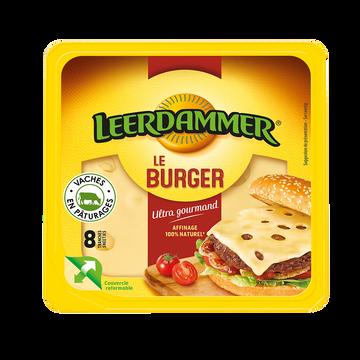 Leerdammer Fromage Pasteur.hamburger Leerdammer, X8 Soit 150g
