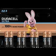 Duracell Piles Lr06-aa Duracell Ultra Power, Pack De 8