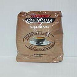 Café tradition en grains CAFÉS CHAPUIS paquet 1kg