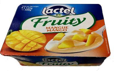 LACTEL FRUITY DESSERT MANGUE 4X125G