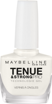 Gemey Maybelline Vernis À Ongles Tenue & Strong Pro Pure Whit Gemey Maybelline, Nu
