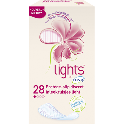 Protège lingerie Discret Light By TENA, x28