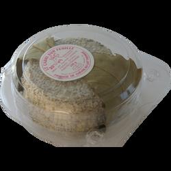 Cabri sur feuille cendre sans coquilles au lait thermisé de chèvre 22%