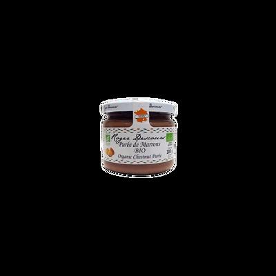 Purée de marrons biologique, bocal de 300g