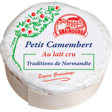 Petit camembert lait cru 23% de MG TRADITIONS NORMANDIE, 150g