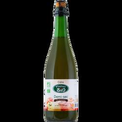 Cidre demi sec, PLANET BIO, 4°, 75cl