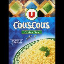 Couscous grains fins U, étui de 500g