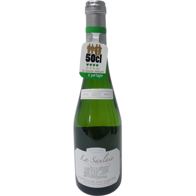 Vin blanc AOP Coteaux du Layon la Saulaie, bouteille de 50cl