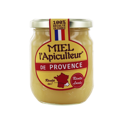 Miel de Provence crémeux Miel l'Apiculteur 375g