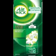 Recharge pour désodorisant freshmatic compact parfum fleurs blanches AIR WICK