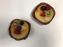 Tartellettes multi-fruits 2 pièces