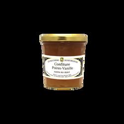 Confiture poire vanille au miel RUCHERS DE BOURGOGNE, 375g