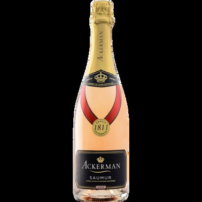 Vin rosé Saumur brut ACKERMAN 1811, 75cl