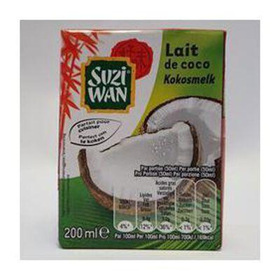 Lait de coco SUZI WAN, 200ml