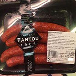 4 MERGUEZ FRAÎCHES**FANTOU**