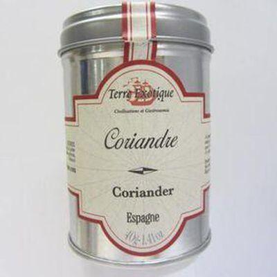 Coriandre Espagne TERRE EXOTIQUE ,40g