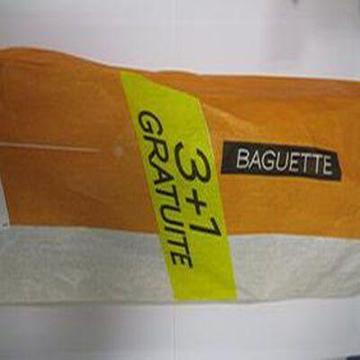 Baguette 3 + 1 gratuite