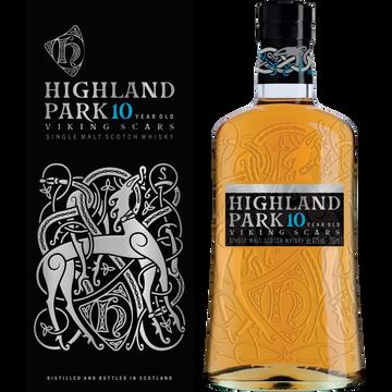 Scotch Scotch Whisky Single Malt 10 Ans Highland Park, 40°, 70cl + Étui