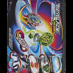 Set de combat BEYBLADE Burst rise hypersphère-dès 8 ans- comprend unearène,2 toupies hypersphère,2 lanceurs