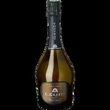 Excellence Vin Blanc Pétillant Vouvray Brut C.greffe , 12,5°, 75cl