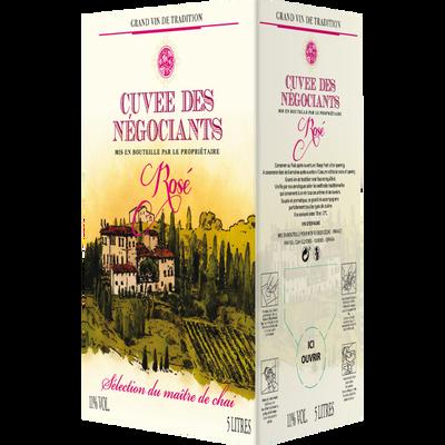 Vin rosé d'Espagne Cuvée des Négociants, fontaine à vin de 5l