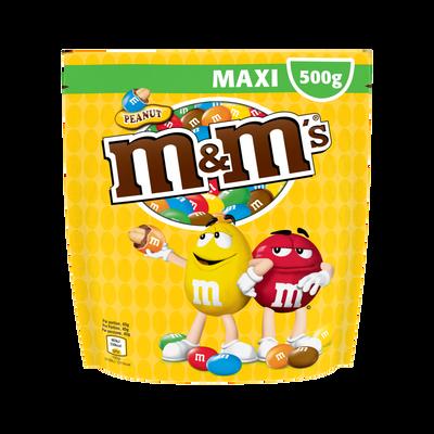 M&M'S cacahuètes Peanuts, pochon de 500g