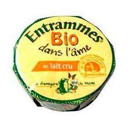 Entrammes bio au lait cru et au sel de Guérande, 29%MG, 250g