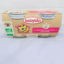 babyBIO Pomme AQUITAINE Banane2X130GRS