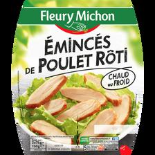 Emincés de poulet rôti FLEURY MICHON, 2x75g, 150g