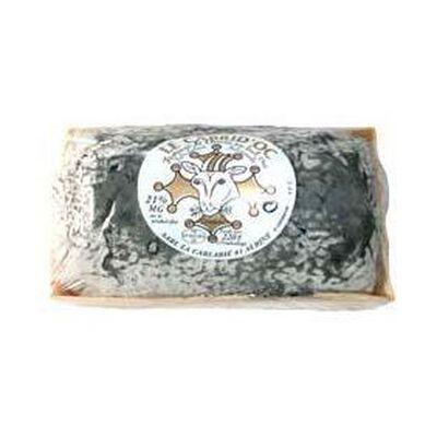 Buchette de chèvre cendrée au lait cru CABRID'OC, 21%MG, 220g