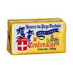 Beurre doux du Pays Rochois LE CENTENAIRE, 250g
